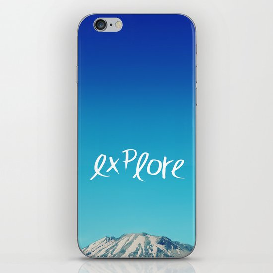 Explore: Mountain iPhone & iPod Skin