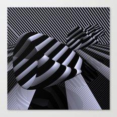 Steiner's Surface in OpArt-design Canvas Print