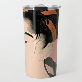 Utumaro #1 Peach Travel Mug