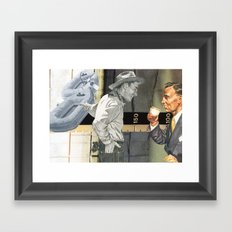 Too Much Coffee Man, Get Back To Nature Framed Art Print