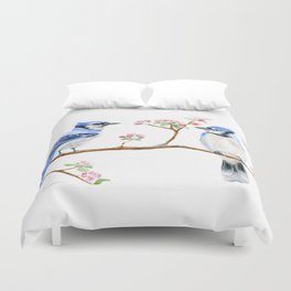 Hope and Courage by Teresa Thompson Duvet Cover