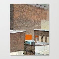 Brick and Orange Canvas Print