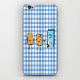 Cookies and Milk iPhone Skin