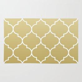 golden pattern Rug