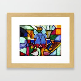 2023 Rise Aware Seen Without Sight by  Marcellous Lovelace Framed Art Print