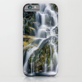 Aqua Waterfall iPhone Case