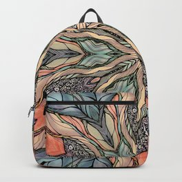 Autumn Leaves Mandala Backpack