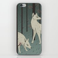 wolves iPhone & iPod Skins featuring Wolves by James White