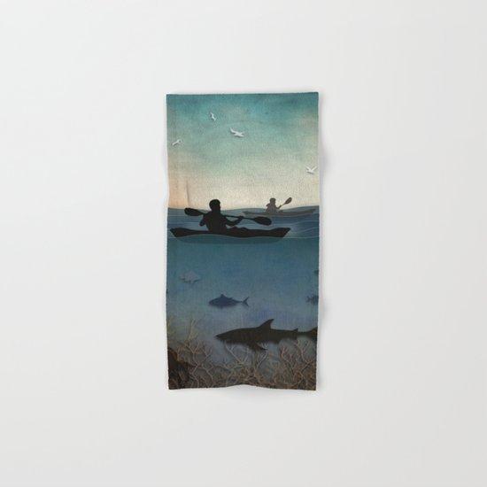 Sea Kayaking Hand & Bath Towel