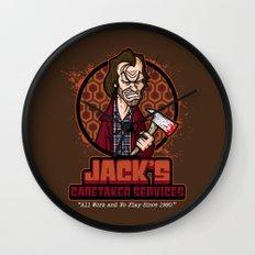 Jack's Caretaker Services Wall Clock