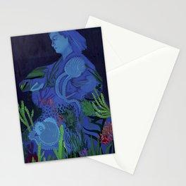 Jeanne Villepreux-Power, Mother of Aquariums Stationery Cards