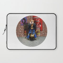 The Rock and Roll Dog Laptop Sleeve