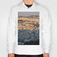 israel Hoodies featuring Jerusalem Living in Israel by Rachel J