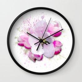 Blossom Flower Wall Clock