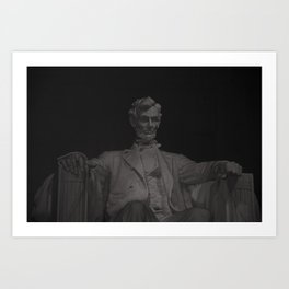 Lincoln (redux) Art Print