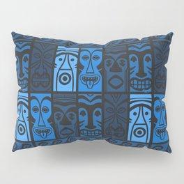 Blue Tikis! Pillow Sham
