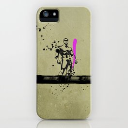 PINK_HERO_SERIES_1 iPhone Case
