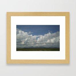 Arizona skys Framed Art Print