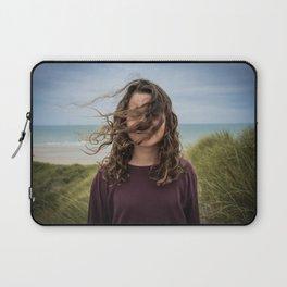 Wind girl Laptop Sleeve