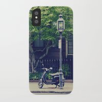 vespa iPhone & iPod Cases featuring Vespa by thirteesiks