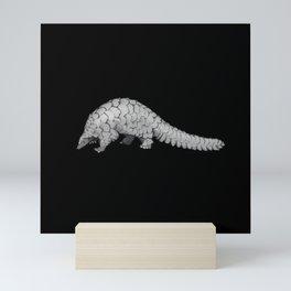 Endangered Animals - Pangolin Mini Art Print