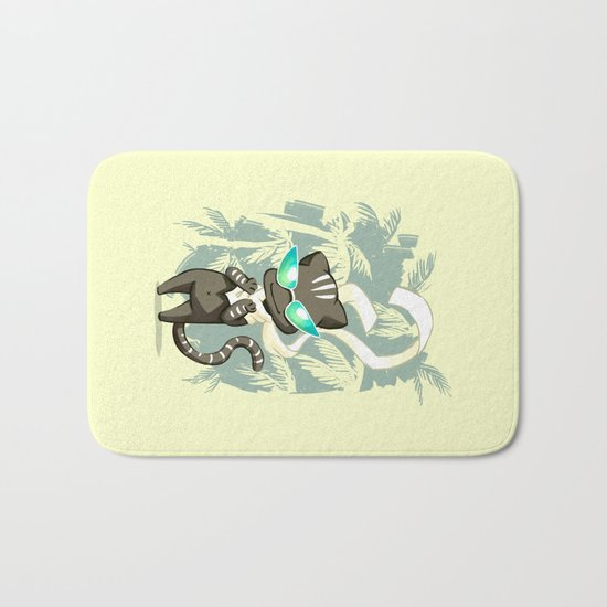 Jungle Cat Bath Mat