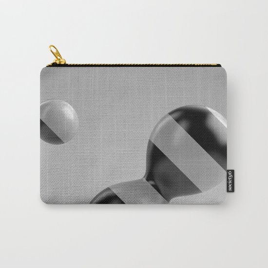Abstract Balance Carry-All Pouch