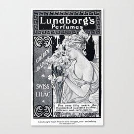Lundborg's Perfumes  Canvas Print