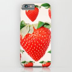 strawberry explosion iPhone 6s Slim Case