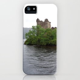 The Ruins at Loch Ness iPhone Case