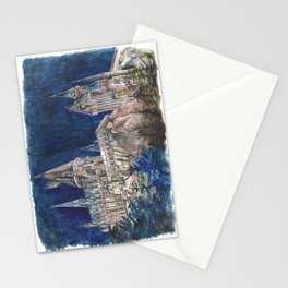 Hogwarts Painting  Stationery Cards