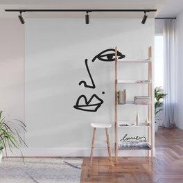 Ella Contour Line Drawing Wall Mural