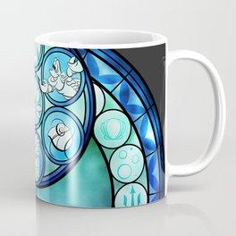 Ariel Stain Glass Coffee Mug