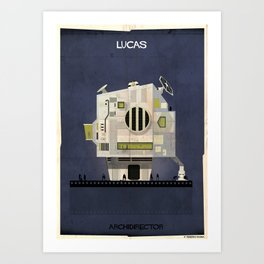 02_ARCHIDIRECTOR_george lucas Art Print