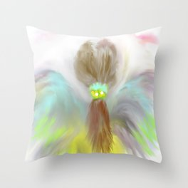 """Look Mom I Got My Wings"" Throw Pillow"