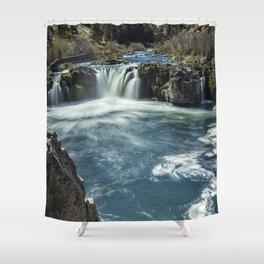 Steelhead Falls Shower Curtain