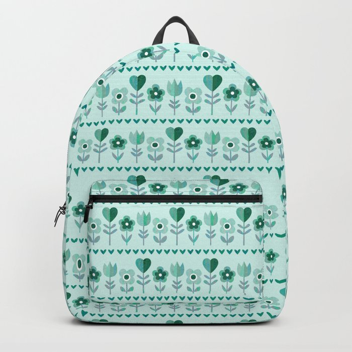 LOVE GARDEN - SEAFOAM Backpack