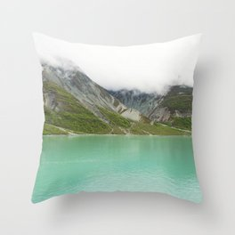 Pristine Alaska Glacier Bay National Park Throw Pillow