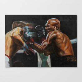 Counter punch Canvas Print