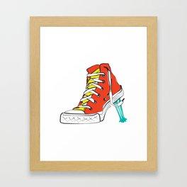 Gum Framed Art Print
