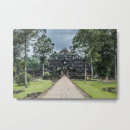 Baphuon Temple at Angkor Thom II, Siem Reap, Cambodia Metal Print