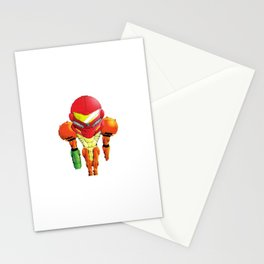 Samus Halftone Stationery Cards