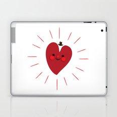 Happy Heart Laptop & iPad Skin