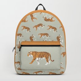 Tiger Trendy Flat Graphic Design Backpack