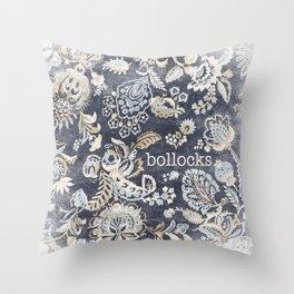 Paisley Bollocks Throw Pillow