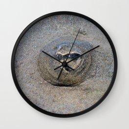Beached Jellyfish Wall Clock