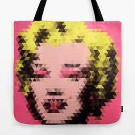 Marilyn - Triangles Tote Bag