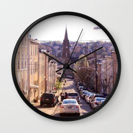 Boroughs of Philadelphia Wall Clock