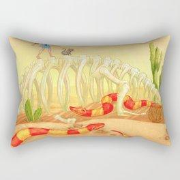 The Deadly Desert Rectangular Pillow