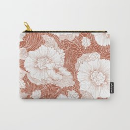 Organic Floral Feels Carry-All Pouch